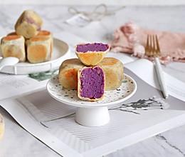 网红紫薯仙豆糕的做法
