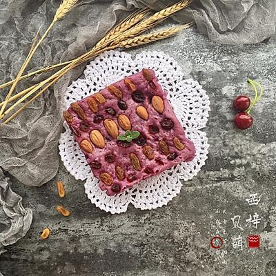 减肥减脂餐紫薯发糕#一汽呵成