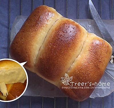 私家拉丝手撕面包(手工揉面版)