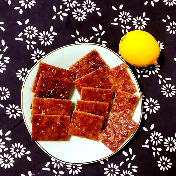 烤箱版蜜汁猪肉脯的做法
