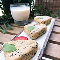 #馅儿料美食,哪种最好吃#咸蛋黄糯米饭团子的做法图解5