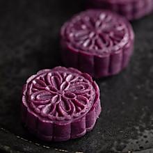 紫薯栗子馅月饼(低糖低油月饼 )