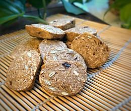 低卡燕麦红糖饼干的做法