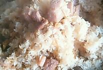 荷叶肉蒸糯米的做法