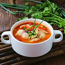 开胃番茄鱼片汤