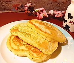 #换着花样吃早餐#不用揉面的懒人早餐饼的做法