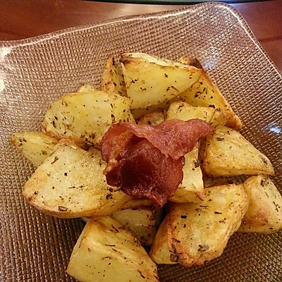 香烤土豆块