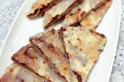 老北京特色麻酱红糖饼