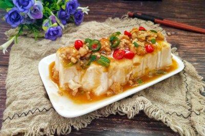 #母亲节,给妈妈做道菜#肉末豆腐