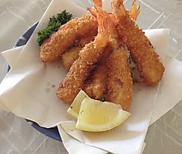 炸虾天妇罗 海老フライ 日式的做法