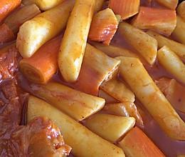 韩式辣酱年糕的做法