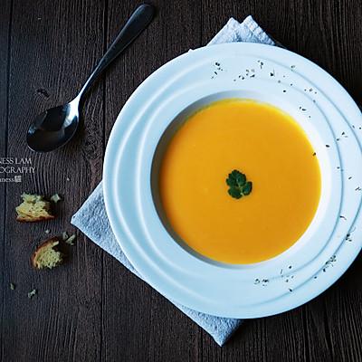 【西式奶油南瓜汤】Cream of Pumpkin