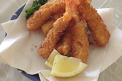 炸虾天妇罗 海老フライ 日式