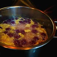 紫薯汤圆酒酿羹的做法图解12