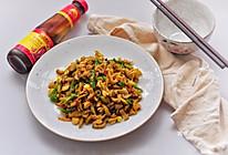 快手青椒炒毛豆#厨此之外,锦享美味#的做法