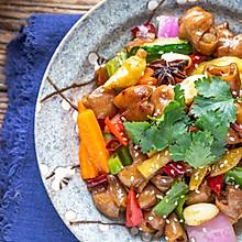 #美食艺术家#干锅肥肠|油润下饭