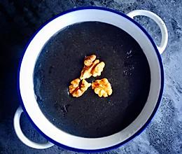 豆浆机版黑芝麻糊的做法
