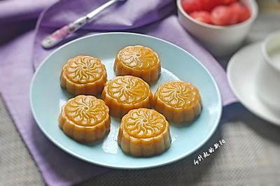 红豆沙南瓜饼