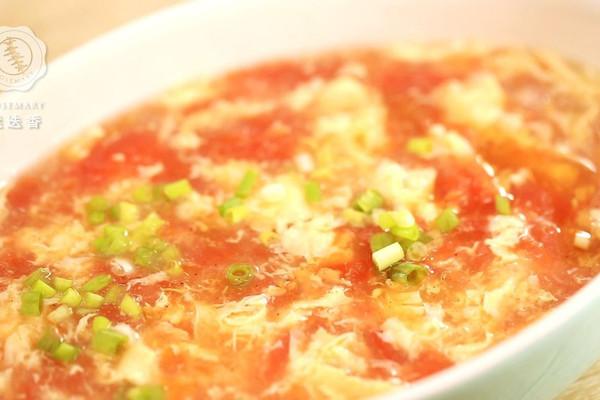 西红柿鸡蛋汤—迷迭香的做法
