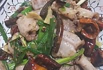家乡菜爆炒肝白肠的做法