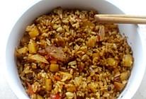 黑胡椒咖喱全蛋炒饭的做法