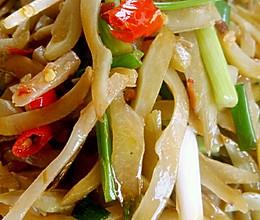 李孃孃爱厨房之一一蒜香龙爪豆的做法