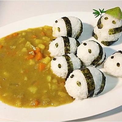 熊猫吃翔-咖喱-萌翻了!