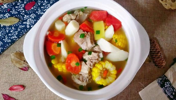 山药玉米排骨汤