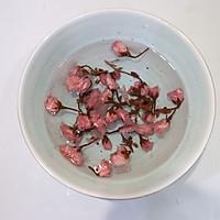 樱花水信玄饼的做法图解1