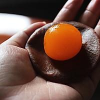 蛋黄酥-酥酥酥到掉渣的美味的做法图解5