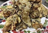 炸蘑菇(孜然沾料)的做法