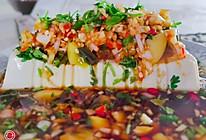 皮蛋拌内酯豆腐的做法