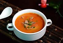 养血明目--番茄猪肝浓汤的做法