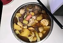 懒人料理丸子汤(电饭锅版本)大杂烩的做法