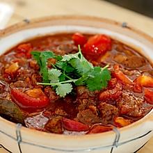 番茄啤酒牛腩煲|暖胃省事