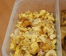 鸡蛋炒虾仁的做法