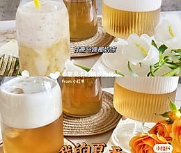 夏日清凉解渴~甘蔗马蹄椰奶冻的做法