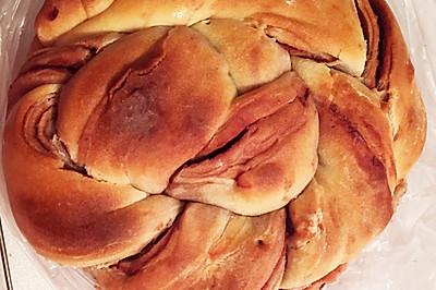 红豆葡萄干手撕面包
