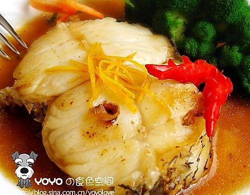 红酒柠檬煎鳕鱼