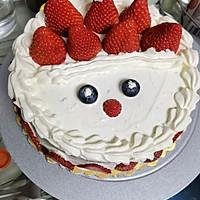 红丝绒蛋糕~圣诞夜的做法图解10
