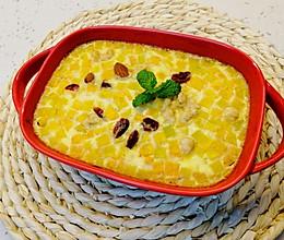 #一起加油,我要做A+健康宝贝#南瓜烤蛋奶的做法