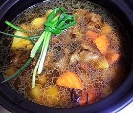 土豆炖牛肉(砂锅版)的做法