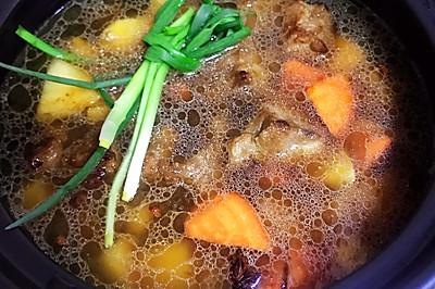 土豆燉牛肉(砂鍋版)