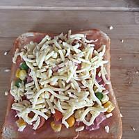 早餐吐司披萨(超简单)的做法图解5