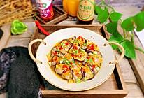 #味达美名厨福气汁,新春添口福#花开富贵-肉末茄子的做法
