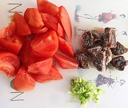 牛腩柿子的做法