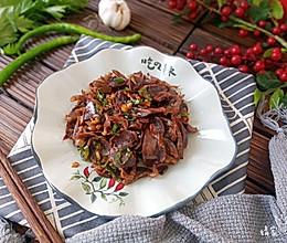 爆炒鸭胗#快手又营养,我家的冬日必备菜品#的做法