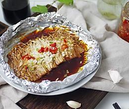 秒杀烧烤店的蒜蓉金针菇#冰箱剩余食材大改造#的做法