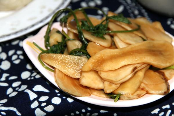 可口小咸菜-腌鬼子姜(洋姜)的做法