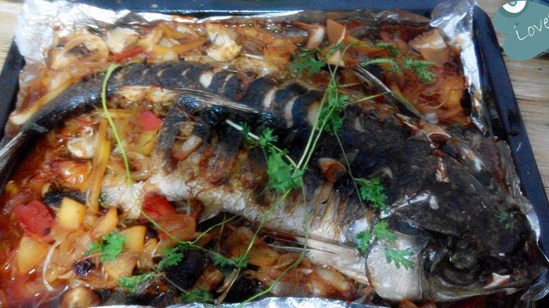 孜然烤鱼#长帝烘焙节#